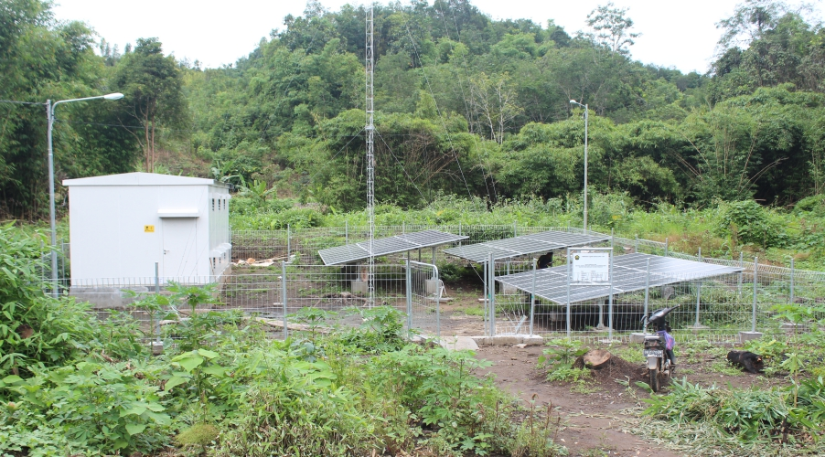 Village electrification in Indonesia
